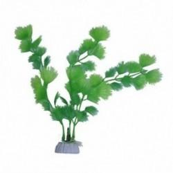 1X (Műfüves zöld műanyag akvárium dekoráció C2A3)