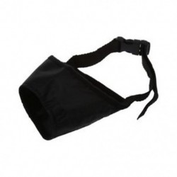 1X (Fekete állítható nejlon kutya-fül a 8 cm-es S7C2 biztonsági ugatáshoz)