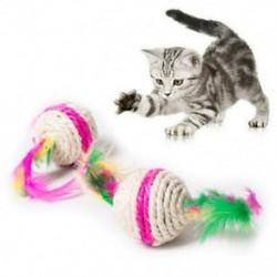 Színes macskajátéklabda interaktív macskajátékok Sisa M5M4 rágógumó karcolásához