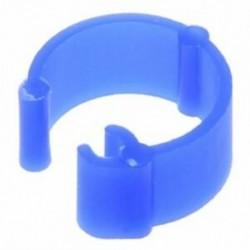 100 db vegyes színű galamb láb műanyag lábgyűrűk szalag belső átmérője 8 mm R7F7