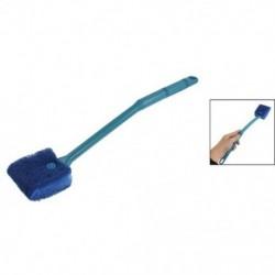 1X (kék kétoldalas szivacstisztító kefe súrolótisztító az Aquarium H5I6-hoz)