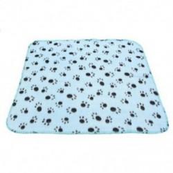 Háziállat takaró gyapjú takaró kutya takaró állati takaró macska háziállat takaró kék M1W0