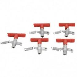 2X (Nyúl öntözőtál egér Nyúl vízbimbó (5 darab, piros és I6A6 készlet)