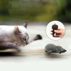 Vezeték nélküli távirányító RC Elektronikus Patkány egér egerek macskakutya Vicces S1H9