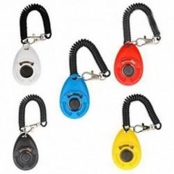4X (5 darabos kutya kiképző Clicker Deluxe modell karkötővel Új frissítés VerI2J7