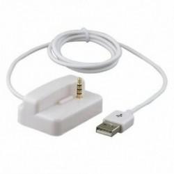 USB az Ipod Shuffle 2. generációs töltő dokkoló kábelének fehér CT Y7O3 H3C6 Q0L6 S5B0
