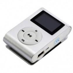 Mini USB klip MP3 lejátszó videó képernyő támogatása 32 GB-os Micro-SD TF kártya N6A9