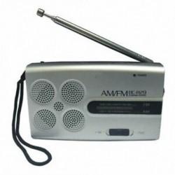 INDIN Bc-R29 Mini zsebhordozható rádió Fm / Am rádióvevő Zene reggel W2G6