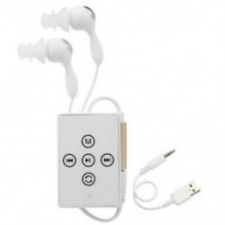 Ipx8 vízálló MP3 lejátszó, 8 GB-os zenelejátszó, FM rádióval, az Runn P8J8 úszáshoz