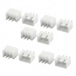 10 db RC 2S 7,4 V Lipo akkumulátor töltőkészülék JST-XH csatlakozódugó fehér P A1N7