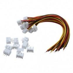 10 pár 150 mm-es 2S1P vezetékes vezeték   mérlegtöltő dugó RC1 Lipo Batter E1R5-hez