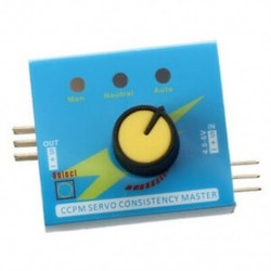 Servo Tester CCPM konzisztencia Master Checker 3CH 4,8-6 V M8W2