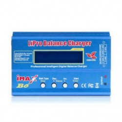 Imax B6 12 V-os akkumulátortöltő, 80 W-os Lipro kiegyensúlyozó töltő Nimh Li-Ion Ni-Cd Dig U0N4
