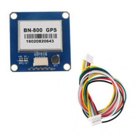 8X (BN-800 GPS-modul támogatás GPS Glonass Beidou a Pixhawk APM Flight Cont P9A7-hez