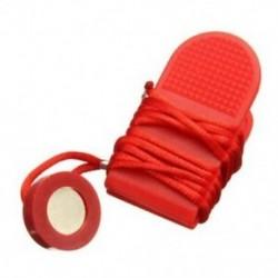 Futógép biztonsági kulcsú futópad mágneses kapcsolózár Fitness piros E2M2