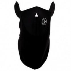 1X (Neoprén nyakú meleg maszk fátyol Sport motorkerékpár Ski-fekete U9Q6)