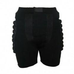 L méret: Fekete Védőfelszerelés Hip Padded Shorts Korcsolyázás Snowboard Pro P4T8