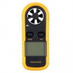 1X (Digitális GM816 LCD digitális kézi szélsebességmérő mérőkészülék Anemom M3X4.)