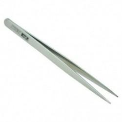 1X (5,1 hüvelykes hosszú ezüst tónusú rozsdamentes acél extra finom hegyes csipeszek T5G6)
