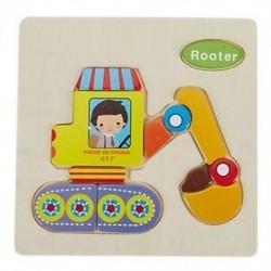 3D-s fa puzzle-játékok gyerekeknek Fa 3D-s rajzfilm állati rejtvények a G9U2-ben