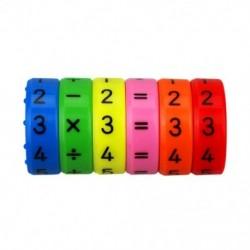 1X (6 darabos mágneses Montessori gyerekek óvodai műanyag játékok a P9A7-hez
