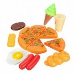13db vicces gyerekek műanyag pizza kóla fagylalt ételek konyhai szerepe játék Ho B2A2