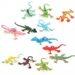 Gecko kis műanyag gyík Szimulációs valóságdekoráció Gyerekjátékok 12 P8X8