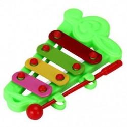 Baby Kid 4-Note Xilofon zenei játékok Bölcsességfejlesztés Y3U5