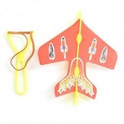 gyerek puzzle Kibocsátó katapultos repülőgépek DIY Repülő játékok O3N8 A2X1