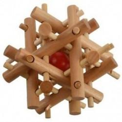 Tizenkét fa nővére Vegye ki a golyós ketrecet Zárolásba reteszelő logikai puzzle Bur I8O3
