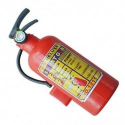 Gyermekek vörös műanyag tűzoltó készülék alakú spricc vízfegyver játék P8V6