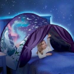 Álom sátrak Winter Wonderland Összecsukható sátrak Kemping szabadtéri túra sátor Ba P2S8