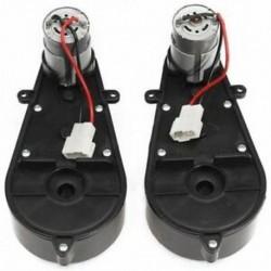 2 db 550 univerzális gyermek elektromos autó hajtómű motorral, 12 Vdc motor W K5Q3