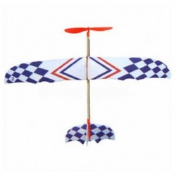 1X (elasztikus gumiszalaggal hajtott barkácsolásos habos sík modellkészlet Aircraft Educationa K7Z3