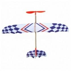 2X (elasztikus gumiszalaggal hajtott barkácsolásos habos sík modellkészlet Aircraft Educationa Q9W7