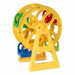 Építési téglajáték-építés-véletlenszerű színes-Ferri kerék (1 db) Q1R1