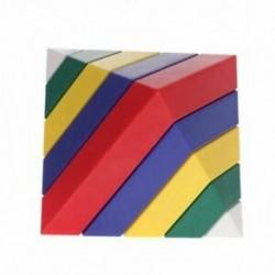 15db / Set építőelemek szerelhető piramis cserélhető gyerekeknek oktatási T5H5