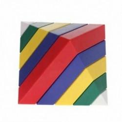 2X (15db / Set építőelemek, szerelési piramis cserélhető gyerekeknek szóló oktatási U5K6