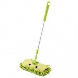 Zöld - Gyerekek tiszta grammbeállító mopja, Q2I7 gyermektakarító szett