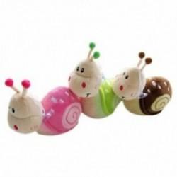 Kis csiga gyerekeknek ajándék plüss baba játék Kis csiga baba X1S5