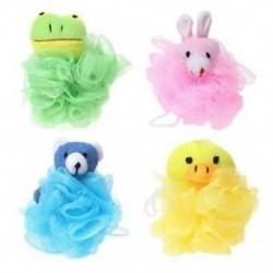 Gyerekjáték-párnás puff hálós kitömött állatokkal (4 csomag), kacsa, Rabb V2T2
