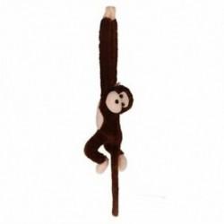 Aranyos Screech gibbon majom Plüss baba játék hangos gyermekeknek karácsonyi ajándék Z4B L8M4
