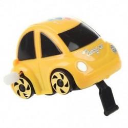 1X (sárga műanyag, feltekerhető óramű autóverseny játék gyerekeknek I2L6)