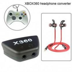 1X (XBOX360 fejhallgató-konverter fejhallgató-átalakító aljzathoz az XBOX360 Co F8J3-hoz)