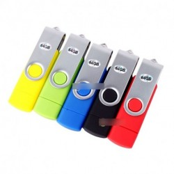 64GB Micro USB Flash Drive pendrive OTG Android Smartphone Tablet Samsung HTC