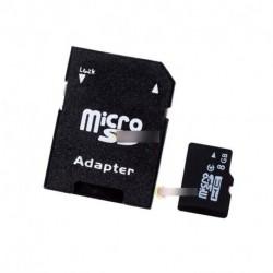 8 GB TF memóriakártya SD adapterrel + Alumínium OTG kártyaolvasó