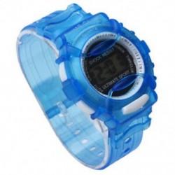Fiúk Lányok Gyerekek Diákok Vízálló Digitális Csukló Sportóra Kék I2F3 A3J0
