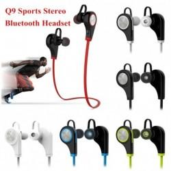 Q9 vezeték nélküli Bluetooth fülhallgató fejhallgató sport sztereó fülhallgató iPhone-hoz Samsung