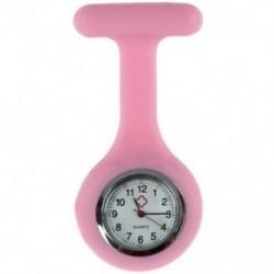 1X (rózsaszín ápolók, bross, szilikon, gumi tunika, Fob karóra D1V6)