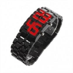 1X (LED digitális láva karóra férfiaknak és nőknek B9Q1)